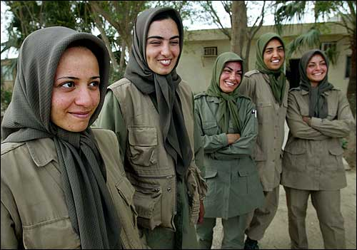 Image result for mojahedin MKO women soldiers
